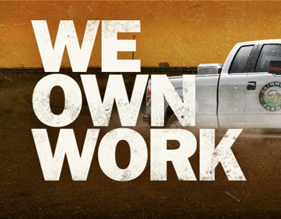 We Own Work Billboard Composite