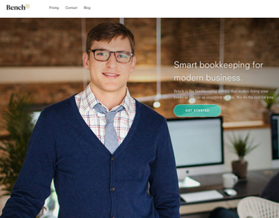 Bench Bookkeepers: Website Photography