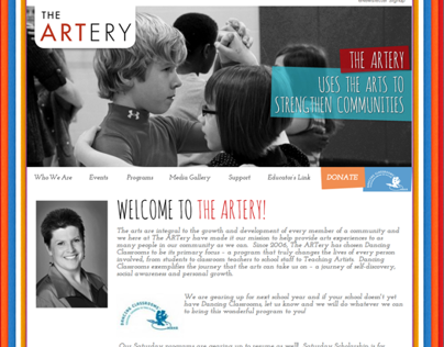 The ARTery: Website
