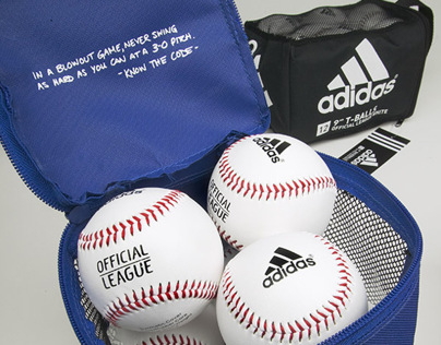 Adidas Baseball product and packaging