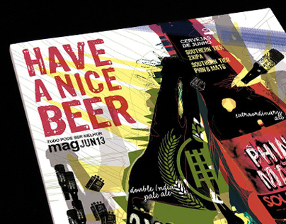 HAVE A NICE BEER Mag / Illustrazione 2013