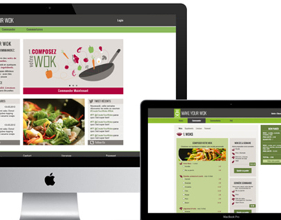 Make Your Wok - Website