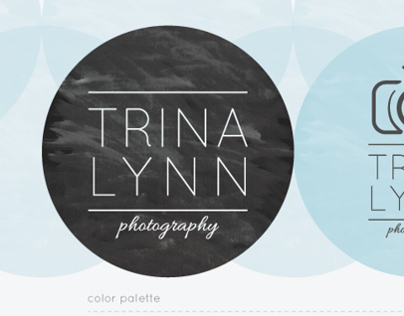 Branding for Trina Lynn Photography