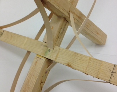 Urban Timber Advanced Studio: Joint Design(March, 2013)