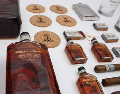 MONSTERS CHOICE _ whisky branding & packaging