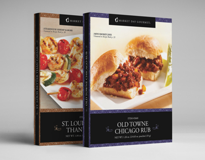 Market Day Gourmet Package Design