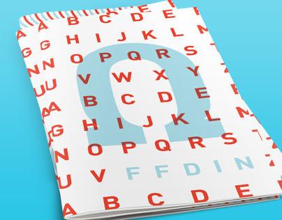 FF Din Type Specimen