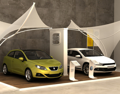 Volkswagen The beach booth 2013
