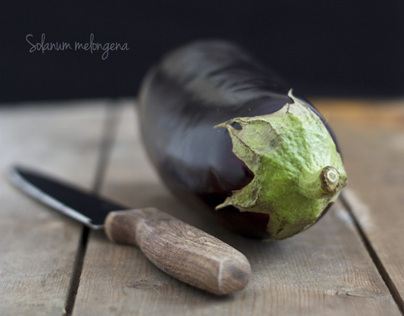 A is for Aubergine…