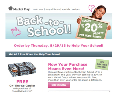 Back-to-School Email Campaign