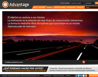 Advantage / Web Design Project