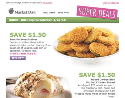Super Deals Email Campaign