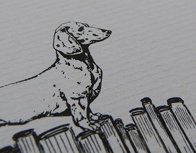 Dogs & Books : a business card