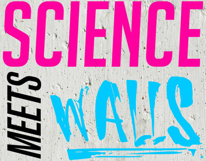 SCIENCE MEET WALLS by kase