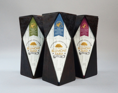 BLUMONT FARM Cheese package