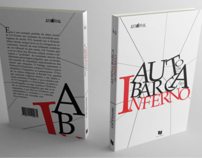 DESIGN EDITORIAL / LIVRO / AUTO DA BARCA DO INFERNO