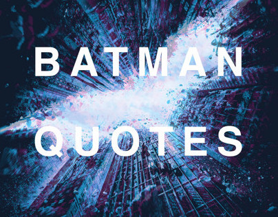 The Dark Knight - Quote Panels