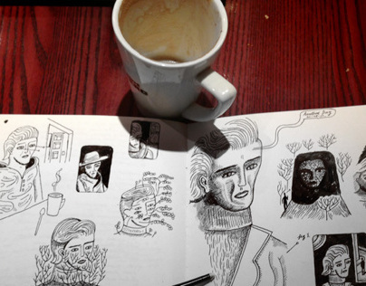 Daily Sketchbook & Coffee II