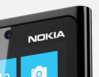 Nokia Lumia 920 (Product Visualization)
