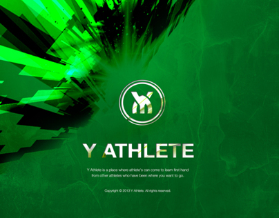 Y Athlete_App & Sales Deck