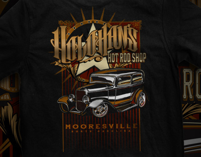 Holohans Hot Rod Tees