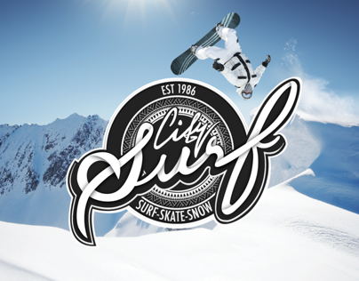 City Surf cardiff Branding (uni project)