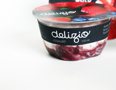 Yoghurt packaging