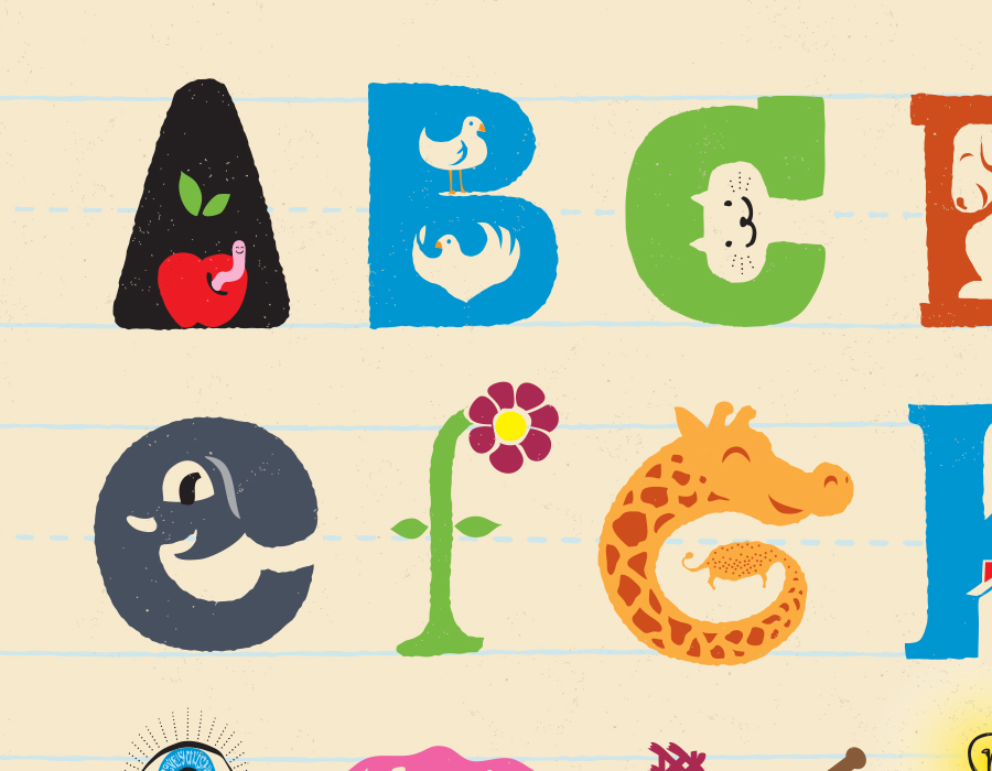 ABCs for my little lady