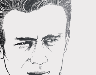 JAMES Dean Vectorial_Illustration