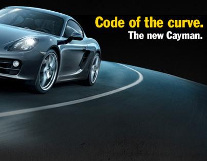 Porsche code of the curve - Website