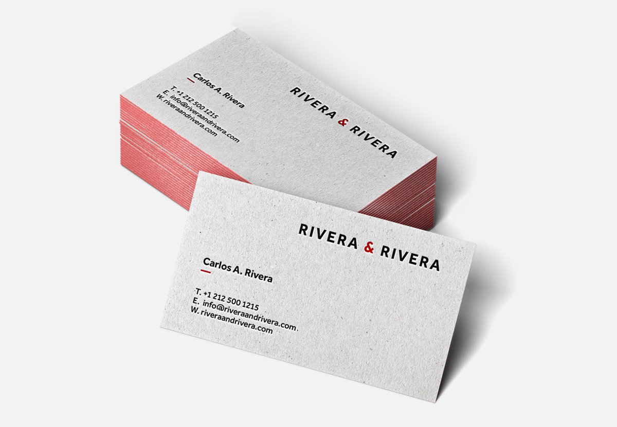 Rivera & Rivera / Visual Identity