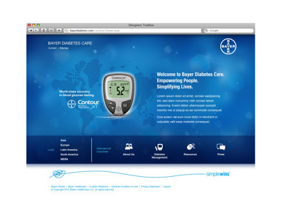 Bayer Diabetes HealthCare Global Site