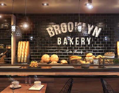 3D visualisatie | Bakery