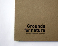 Book Grounds for nature
