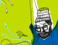 Dan Deacon illustration