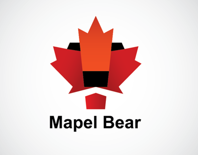 Maple bear. Canadian schools. Identity concept