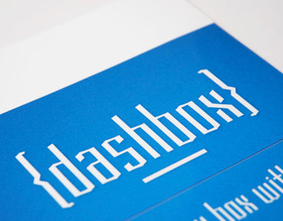 Dashbox Typeface