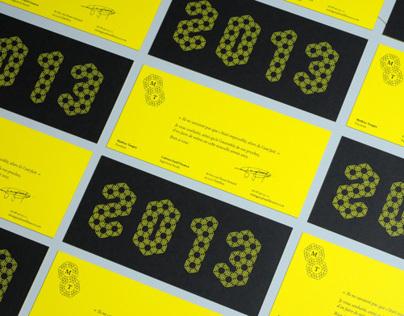 Mathias Tanguy | Greeting Cards 2013