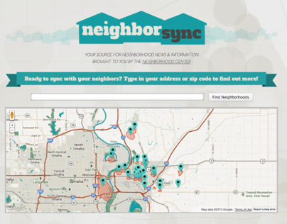 Neighborsync: Website
