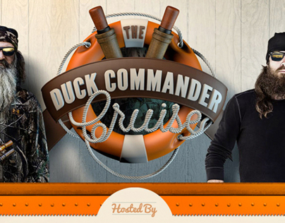 Duck Commander Cruise Branding