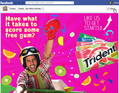 FB game app for Trident Lebanon