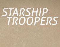 Minimal Monday - Starship Troopers Poster
