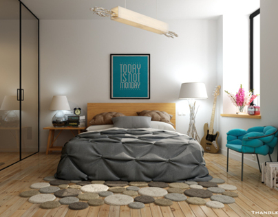 Bedroom_ Design by Thangle