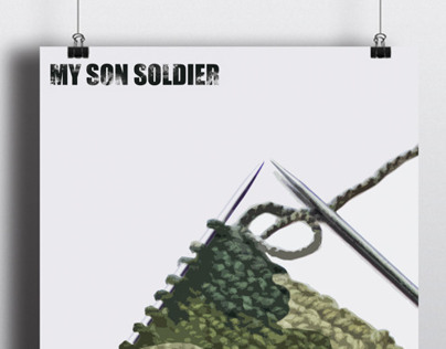 my son soldier- poster