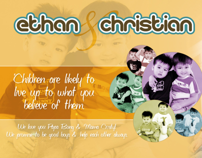 Ethan & Christian Wallpaper Design