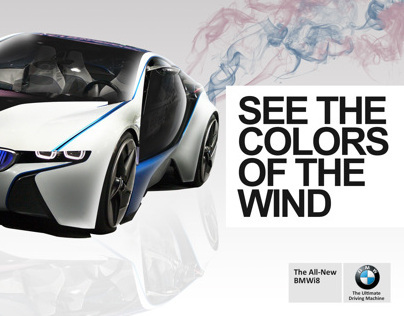 BMW Ad Design