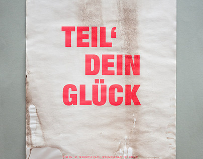GERMAN FLOOD RELIEF POSTERS / HOCHWASSER 2013