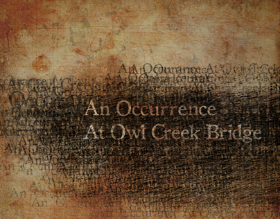 An Occurrence At Owl Creek Bridge Book Design