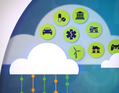 The Power of Cloud IBM Animation