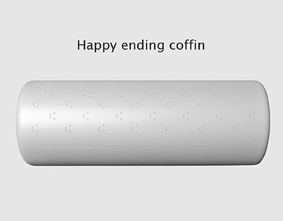 Happy ending coffin